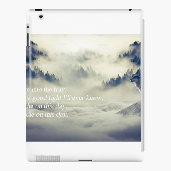 Once more into the fray iPad Snap Case