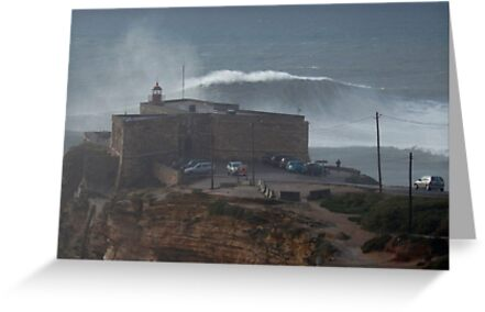 XXL Wave Nazare Portugal by emergentdesigns