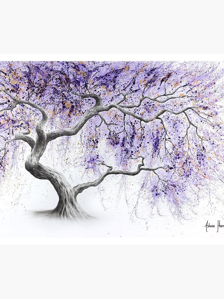 Purple Prosperity Tree by AshvinHarrison