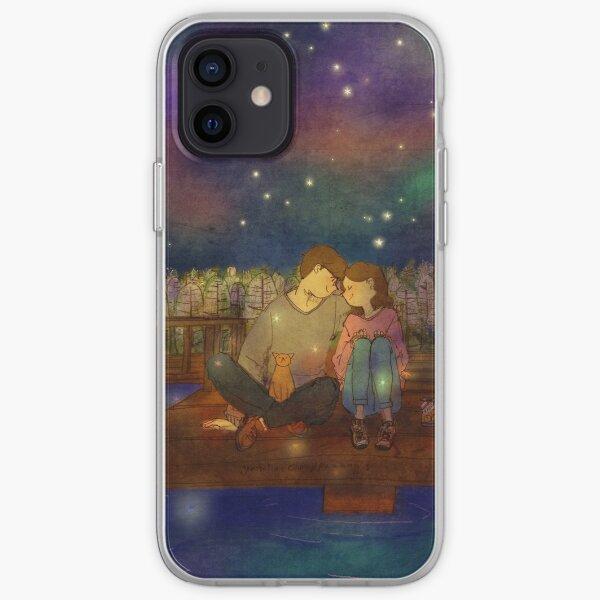 Starry night iPhone Soft Case