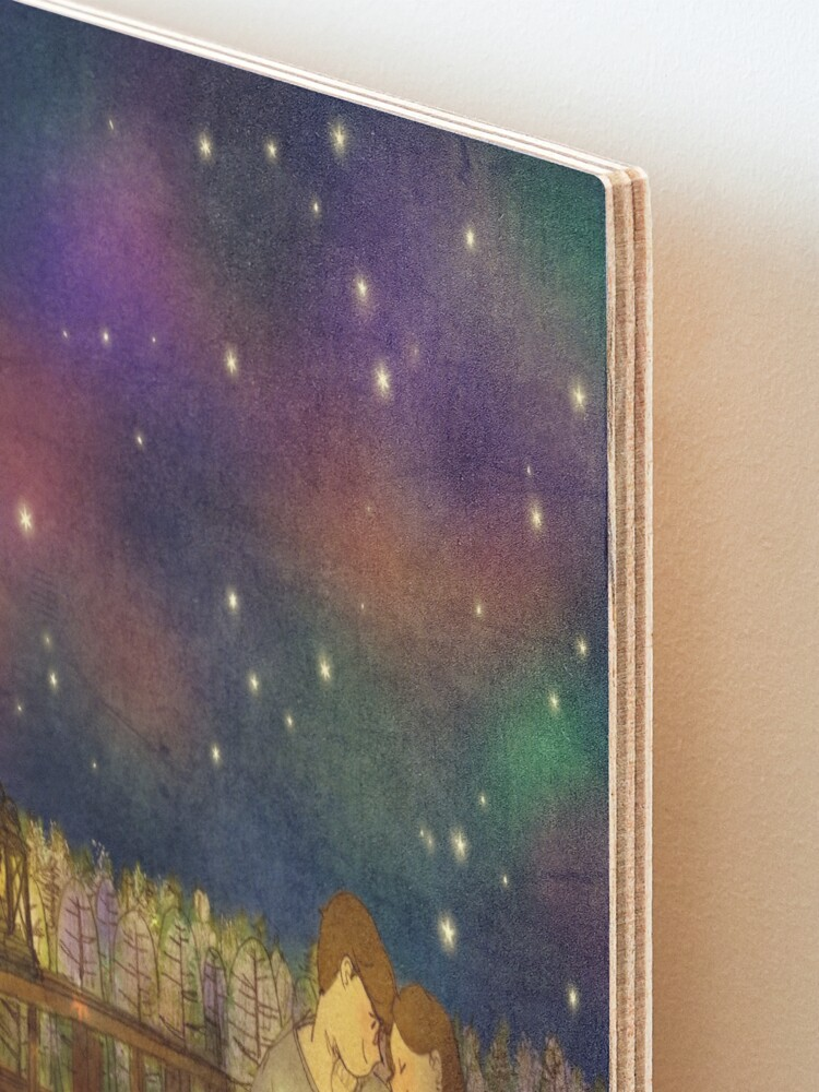 Alternate view of Starry night Mounted Print
