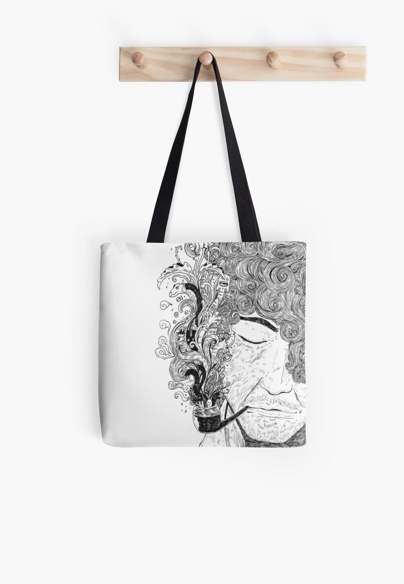 Monsterism - Smoking Man by rizalpaperbag