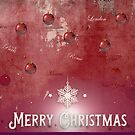 Nostalgic Red Christmas Greeting by hurmerinta