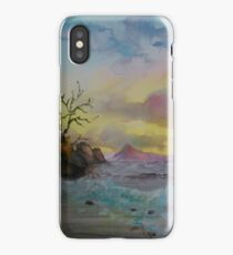 Sunset on the Ross iPhone Case