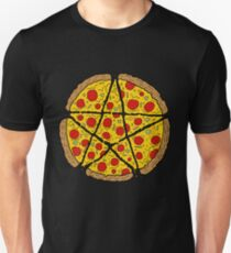 Satan Loves Pizza Unisex T-Shirt