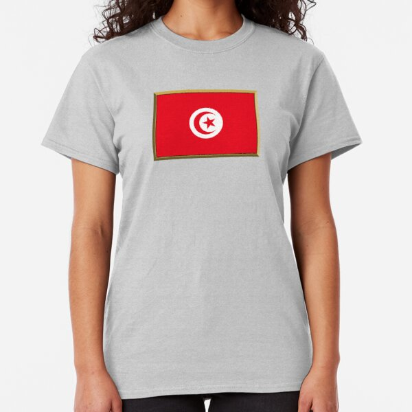Tunisia New T-Shirt Map Flag Top Country Gift Present City Holiday Tee