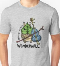 Anyway Here's Wonderwall Unisex T-Shirt