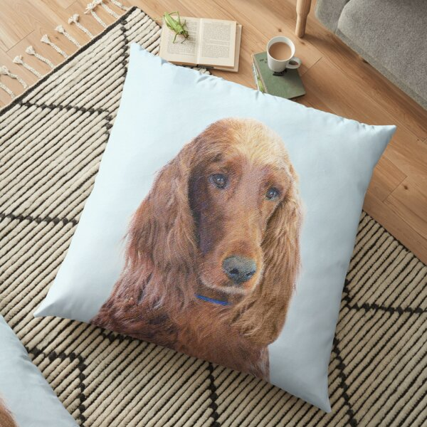 Irish Setter Floor Pillow