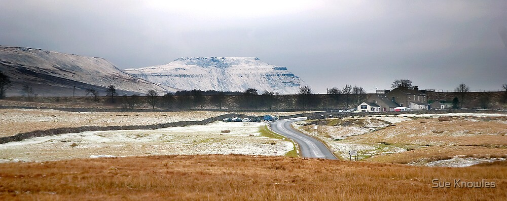 Ribblehead, towards Ingleborough by Sue Knowles