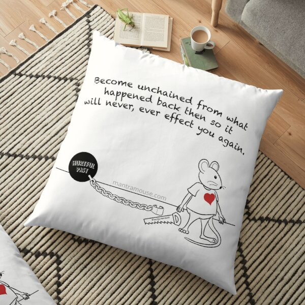 MantraMouse® Forgiveness Cartoon Floor Pillow