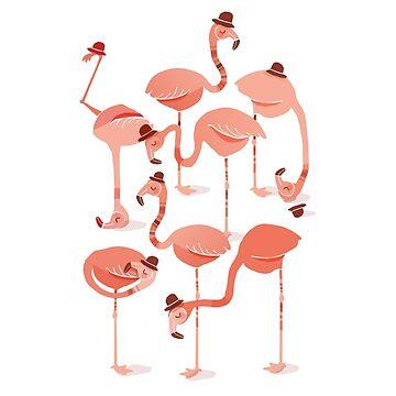 Flamingos von jacquesmaes