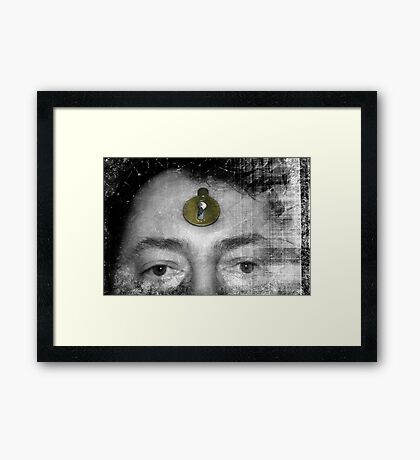 Paths of the Mind Framed Print