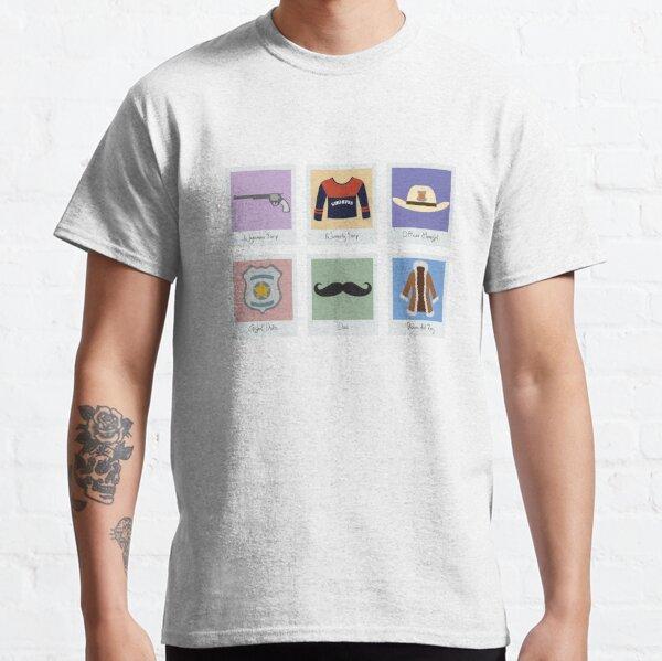 Wynonna Earp Minimalist Icons Classic T-Shirt