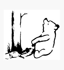 Banksy - Winnie the Pooh Photographic Print