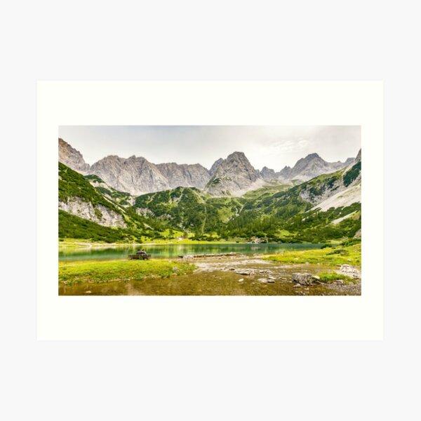 Seebensee | Tirol | Österreichische Alpen | Europa Kunstdruck