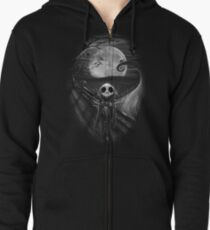 The Scream Before Christmas Zipped Hoodie