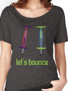 Let's Bounce. Women's Relaxed Fit T-Shirt