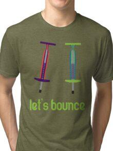 Let's Bounce. Tri-blend T-Shirt