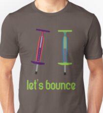 Let's Bounce. Unisex T-Shirt