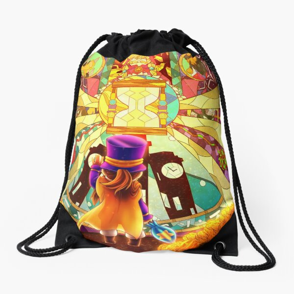 Stained Glass AHiT Drawstring Bag