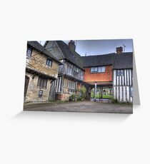 Leicester Square,Penshurst,Kent Greeting Card