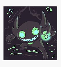 Sableye In A Cave Photographic Print