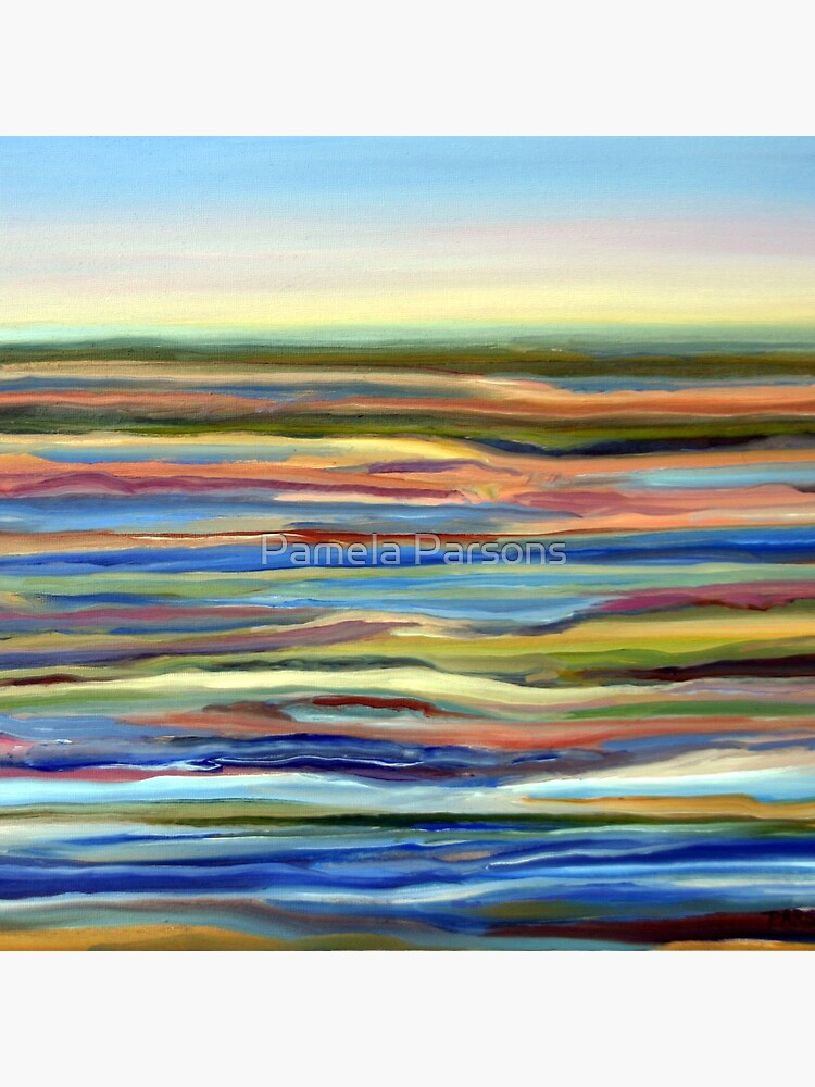 Salt Marsh Sunrise, Plum Island, Cape Ann, Massachusetts. From original oil painting by Pamela Parsons by parsonsp