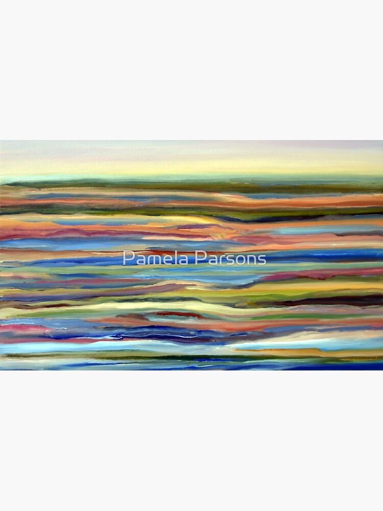 Salt Marsh Sunrise, Plum Island, Cape Ann, Massachusetts. From original oil painting by Pamela Parsons by parsonsp