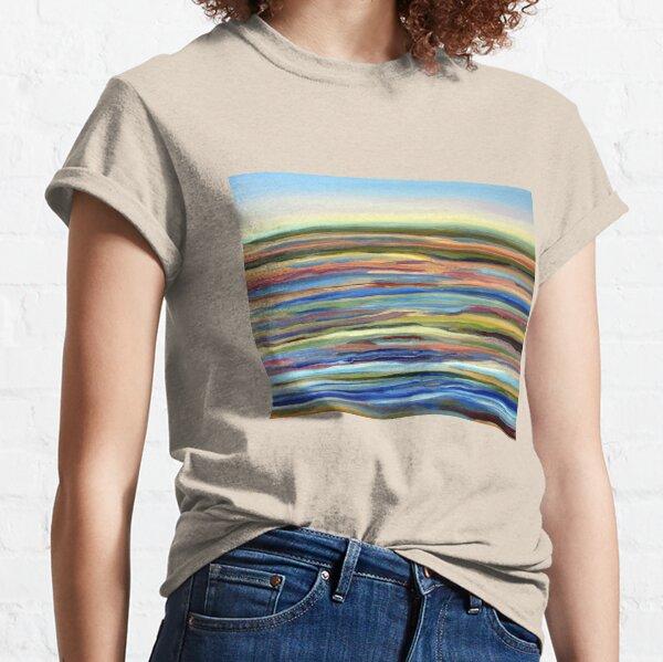 Salt Marsh Sunrise, Plum Island, Cape Ann, Massachusetts. From original oil painting by Pamela Parsons Classic T-Shirt