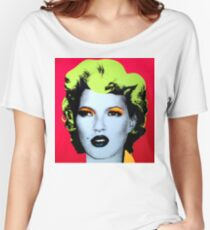 Banksy - Kate Moss Women's Relaxed Fit T-Shirt