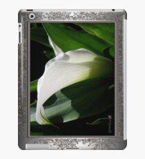 Zantedeschia named Crystal Blush iPad Case/Skin