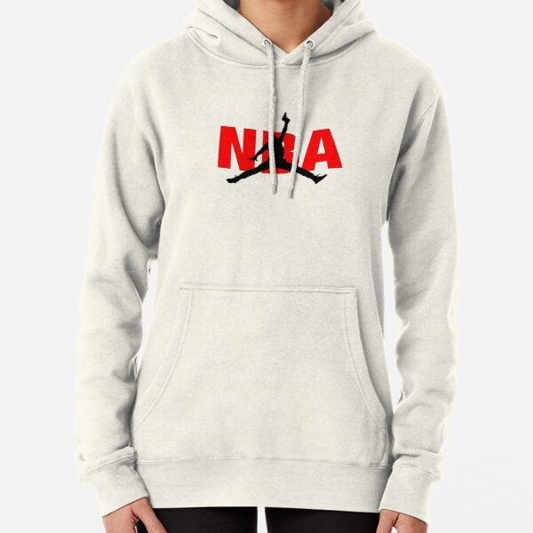 Nba with gun Pullover Hoodie