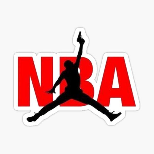 Nba with gun Sticker
