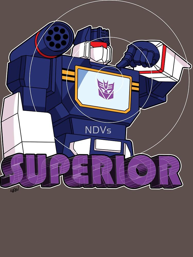 Soundwave: Superior (bust) | Unisex T-Shirt