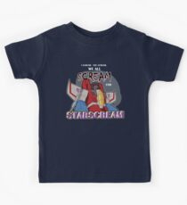 We All Scream for Starscream (dark tee) Kids Clothes