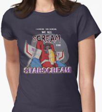 We All Scream for Starscream (dark tee) T-Shirt