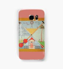 Moonrise Kingdom - Wes Anderson Painting Samsung Galaxy Case/Skin