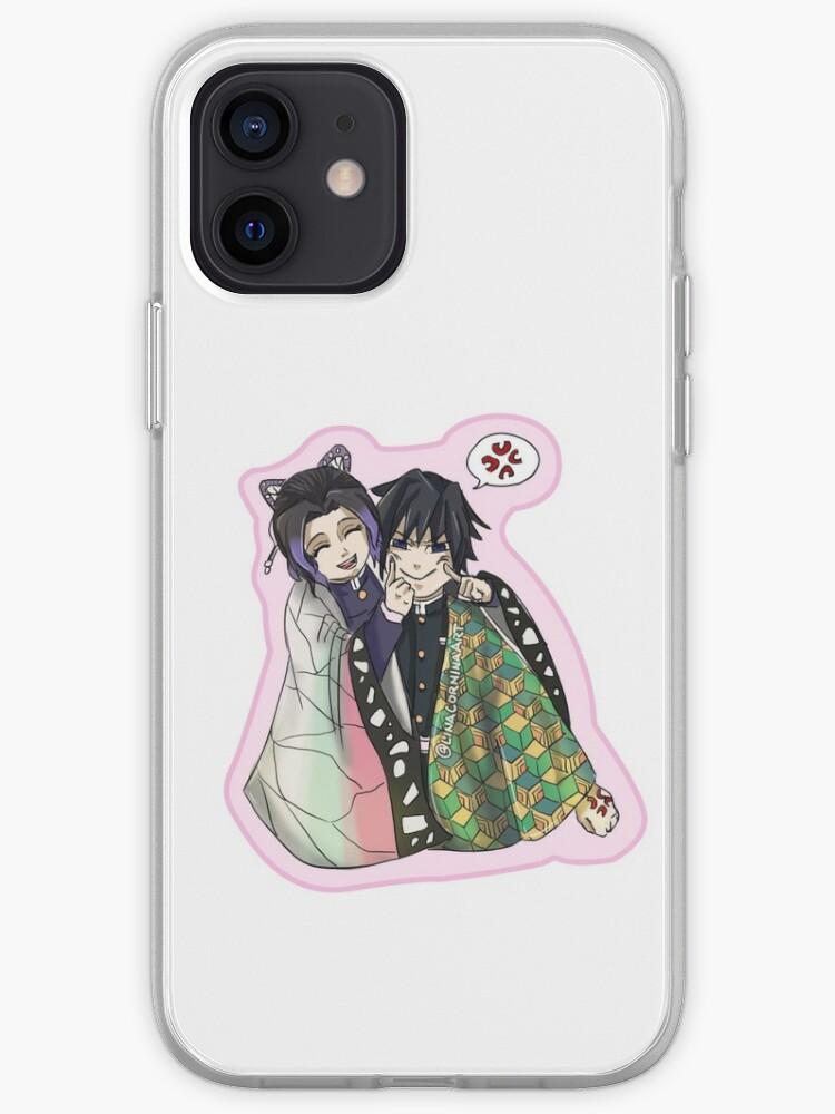 Shinobu and Giyuu | iPhone Case & Cover