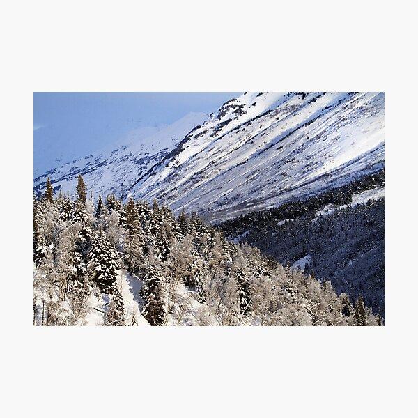 Kenai Mountains Photographic Print