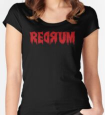 The Shining Redrum Women's Fitted Scoop T-Shirt