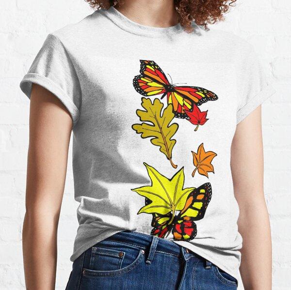 Fall Butterflies  Classic T-Shirt