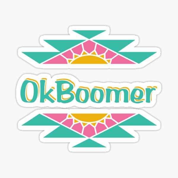 ok boomer Arizona Sticker