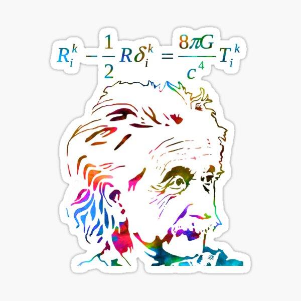 Einstein field equations Sticker