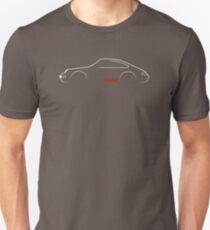993 brushstroke design (dark background) T-Shirt