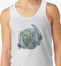 Drill Goblin Warrior Tank Top