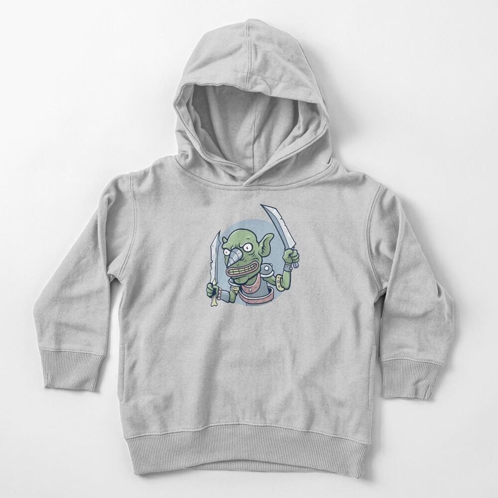 Drill Goblin Warrior Toddler Pullover Hoodie