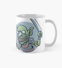 Drill Goblin Warrior Classic Mug
