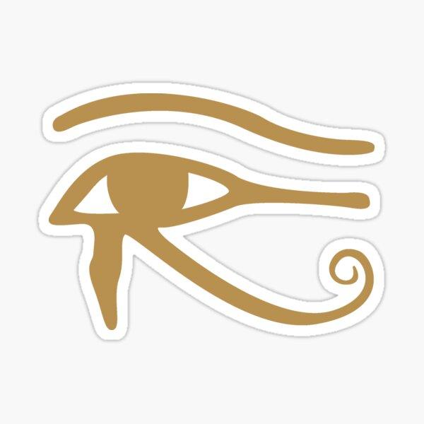 Gold Eye of Horus/Ra Sticker
