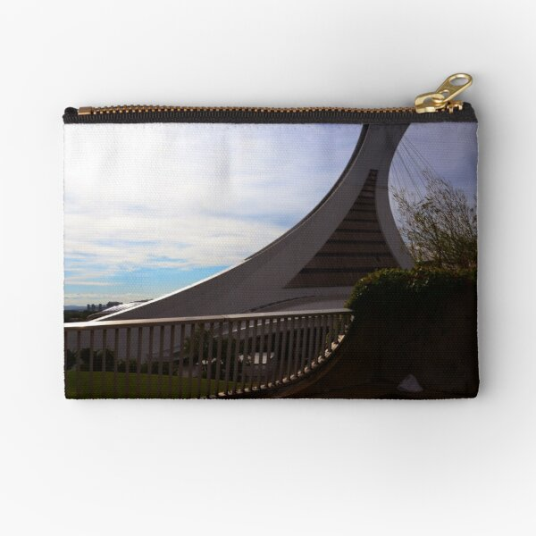 Olympic Stadium Montreal Zipper Pouch