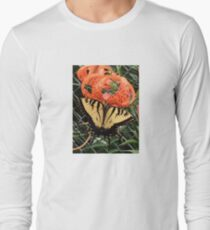 Butterfly on a Tiger Lily T-Shirt